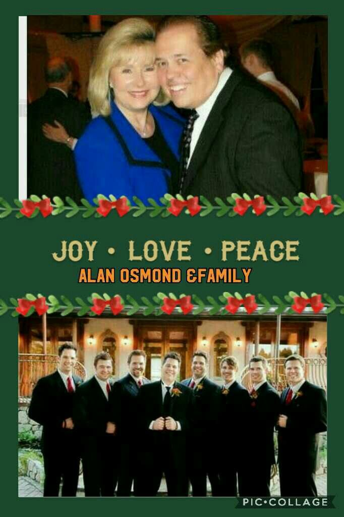Pin By Judy Skau On Alan Osmond The Osmonds Osmond Osmond Family