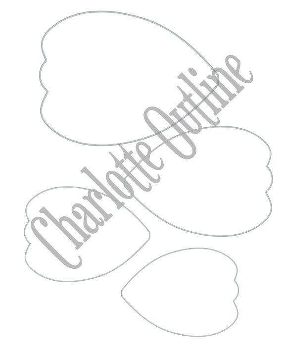 Diy Giant Paper Flower Printable Templates Flower Template