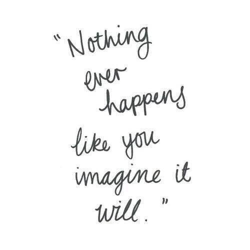 grafika quote, imagine, and nothing