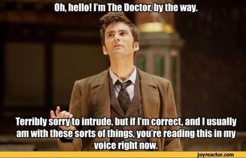 Yeah, that definitely happened. DoctorWho DavidTennant
