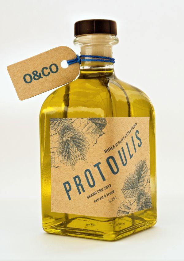 O&CO Olive Oil by Greg Klarfeld, via Behance