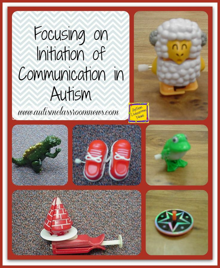 Focusing on Initiation of Communication for Learners with Autism by Autism Classroom News: http://www.autismclassroomnews.com