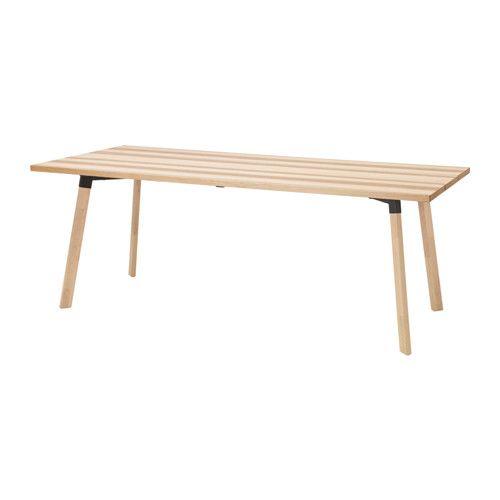 YPPERLIG Tafel IKEA Een wat bredere tafel met voldoende plaats voor etentjes, huiswerk maken, knutselen en andere dagelijkse activiteiten.