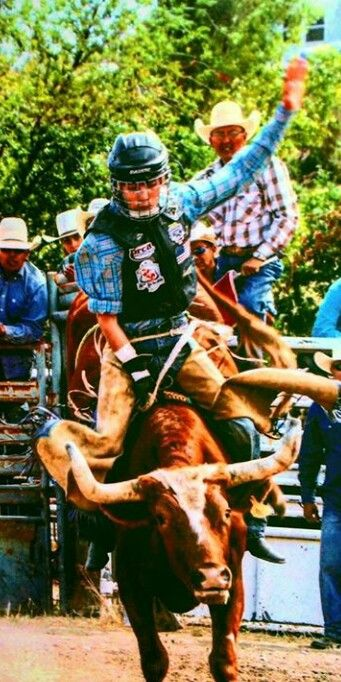 Great Bull Riding Rodeo Photo sent in by Rider Cooper Buck McClain We love the Pictures Team Cowboy Coffee Chew