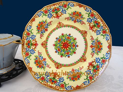 Grindley English China Plate for hire