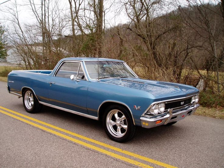 1966 Chevy El Camino 396 4 speed with 12 bolt posi and 3.73 gears
