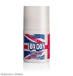 Kuličkový #antiperspirant deodorant 24h London :: Oriflame #kosmetika pro vaši krásu  www.orif24.cz