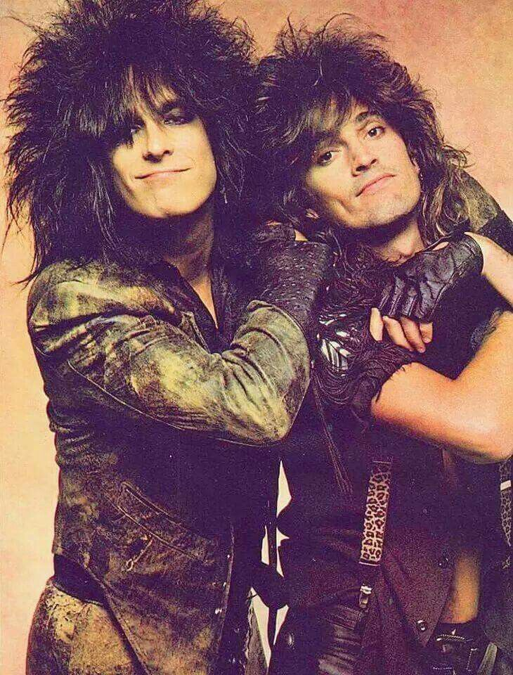 Nikki Sixx & Tommy Lee
