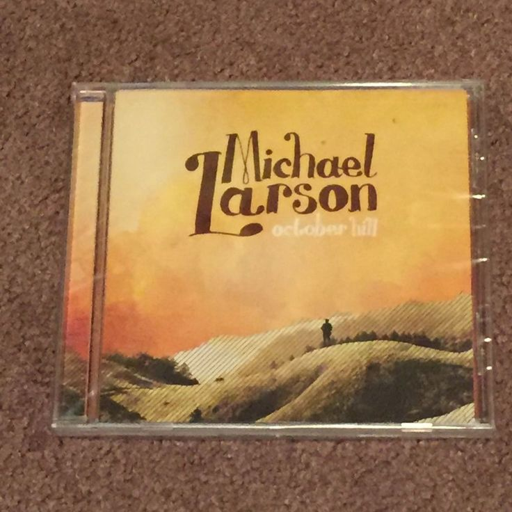 Michael Larson October Hill (CD, Music, Christian, ION Records, 2009, New) #Christian