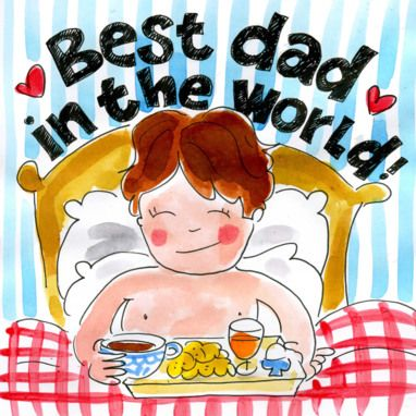 Best dad in the world - Blond Amsterdam