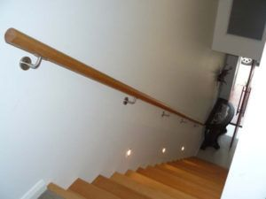 Wall Mounted Handrail Brackets With Led Lights