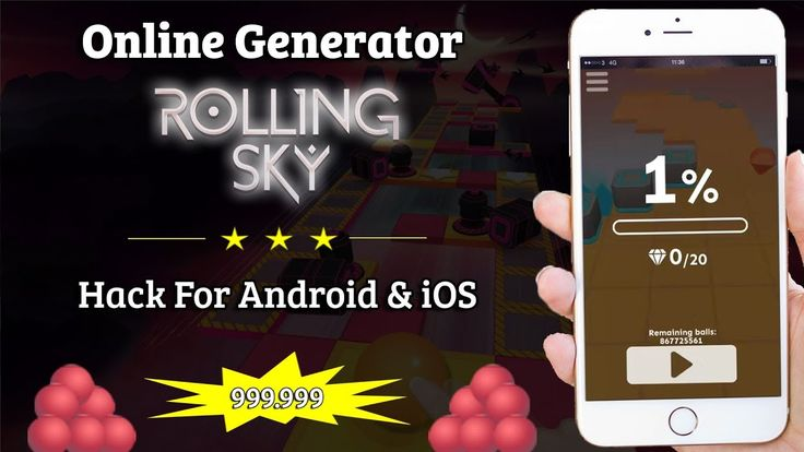 Rolling Sky Hack - New improved version for 2017 - Get unlimited PinBalls in few minutes! http://rollingsky.gamecheat4android.com/