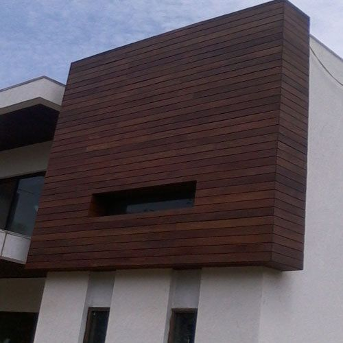 Best 25 exterior cladding ideas on pinterest wooden - Wooden cladding for exterior walls ...