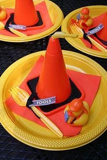 Construction Zone Birthday Party