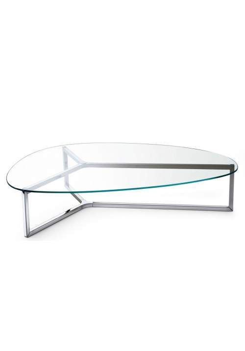 Raj 3 Glass And Metal Coffee Table By Gallotti U0026 Radice   Klarity   Glass  Furniture