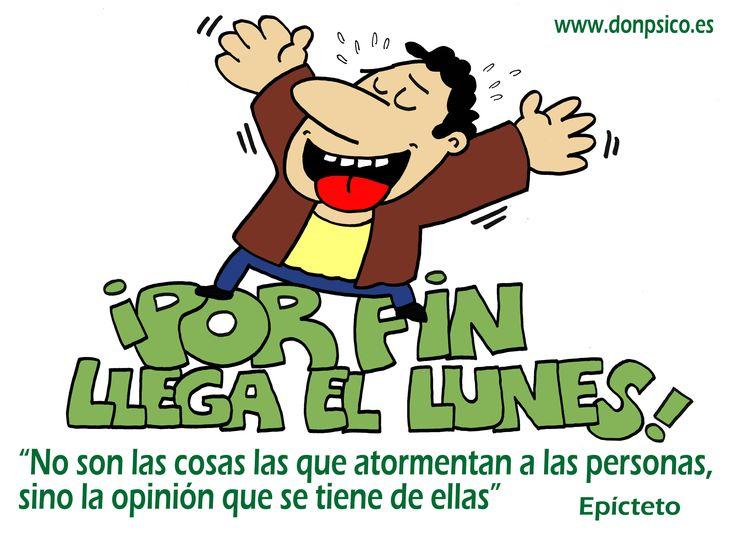 YA LLEGA EL LUNES! www.donpsico.es