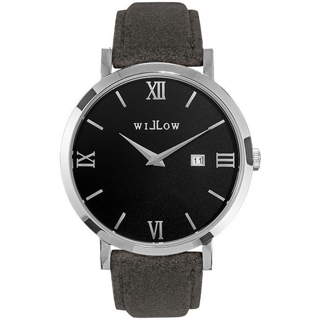 Willow Treviso Watch in Silver with Grey Strap | Buy Women's Watches