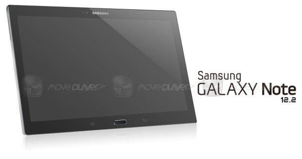Samsung Galaxy Note 12.2 Inch SM-P900 Tablet Image Leaked