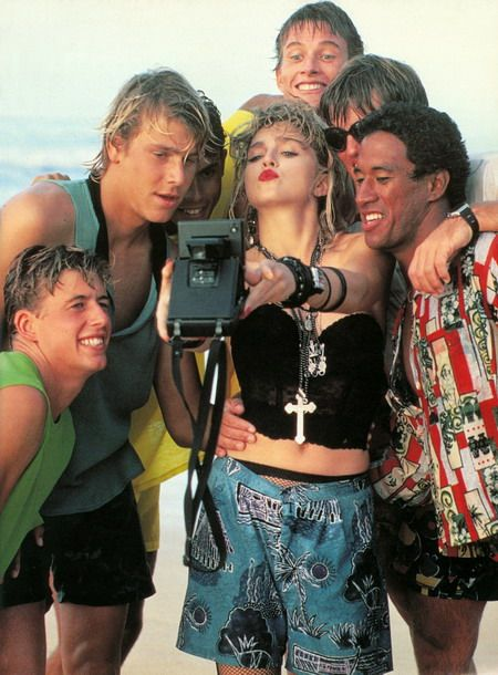 Madonna by Herb Ritts for Rolling Stone magazine, 1985