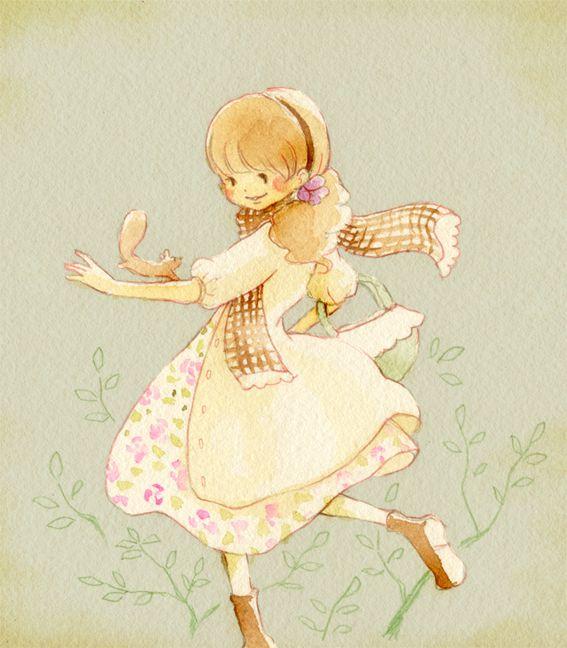 "Eriko Kurita (In the Pocket), ""秋のおしゃれ"" (""Fashionable in Autumn"")"