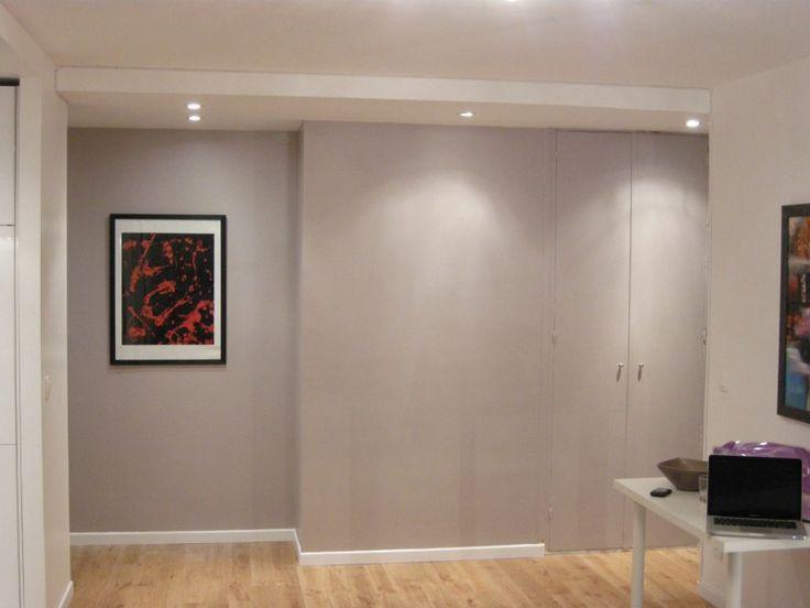 vue depuis la pi ce vivre sur l 39 entr e l abattement des cloisons a permis d 39 agrandir l 39 espace. Black Bedroom Furniture Sets. Home Design Ideas