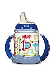 Mom's Best 10 Sippy Cups & Straw Cups of 2017 – Mom's Best 10 Is your little one ready to transition from the bottle or breast to a sippy cup? The NUK learner cup makes this transition easy and simple! NUK, which is affiliated with the well-known Gerber brand of baby products, offers this sippy cup with a soft spout that mimics a baby bottle. This makes the NUK learner cup is a great transition sippy cup as well as a great no spill sippy cup!