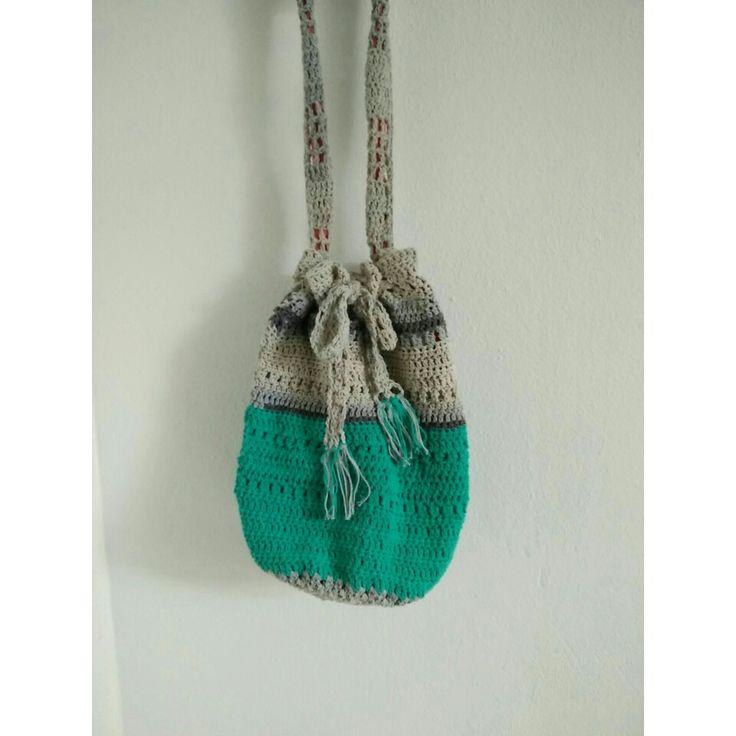 Hand made Boho bag #crochet #bag#bohobag#handmade #handmadeshop #waitingyouroders