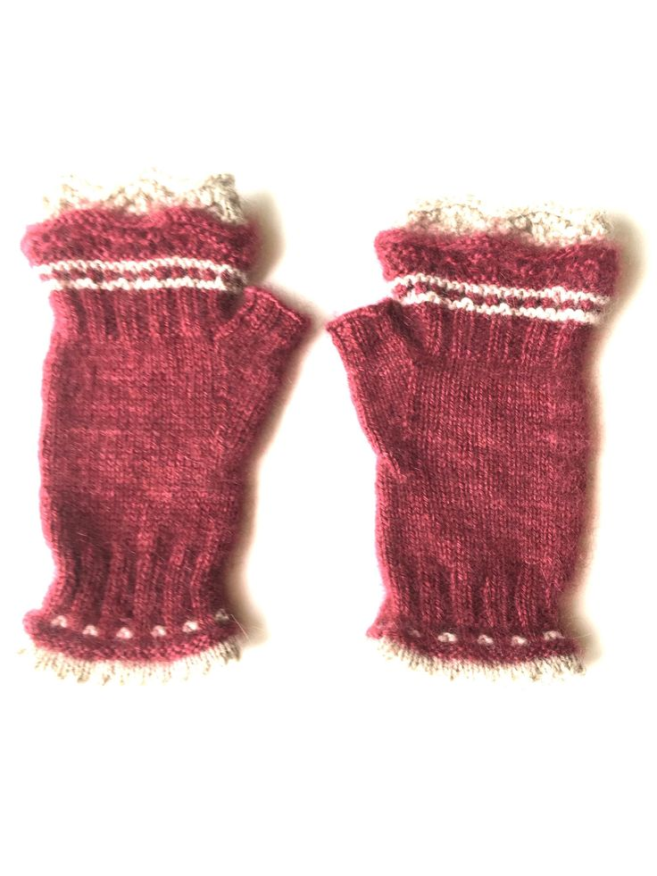 A personal favorite from my Etsy shop https://www.etsy.com/listing/607243787/qiviut-fingerless-gloves