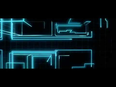 Just the first couple of minutes of Tron Legacy
