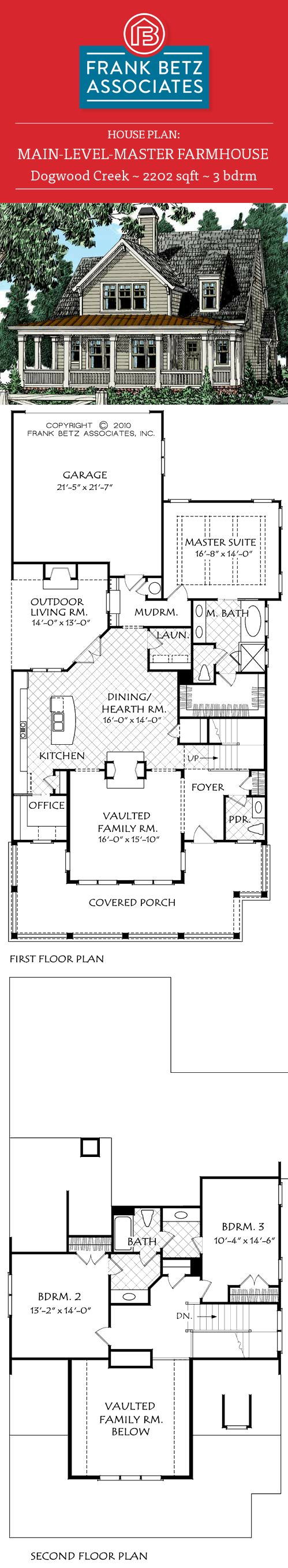 17 best images about main level master house plans on for Frank betz floor plans