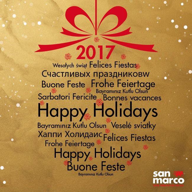 Colorificio San Marco Spa Spa vi augura Feste Colorate! -- Colorificio San Marco wishes you a Colorful Holiday season!