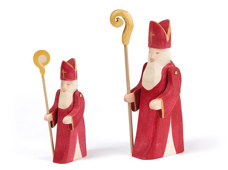Unser St. Nikolaus ist in gross und klein erhältlich.
