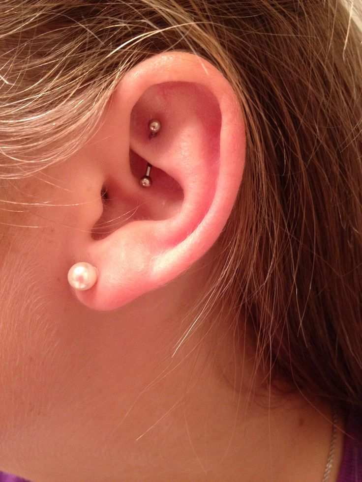 ear piercing rook - photo #2