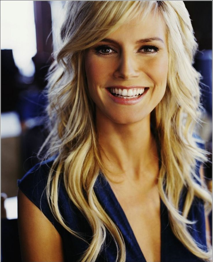 Heidi Klum, German model, tv host, businesswoman, fashion designer and tv producer