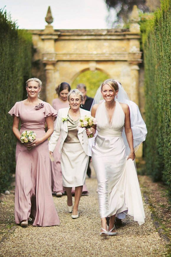 Vera Elegance And Belle Bunty Bridesmaids Dresses For A Sudeley Castle Wedding