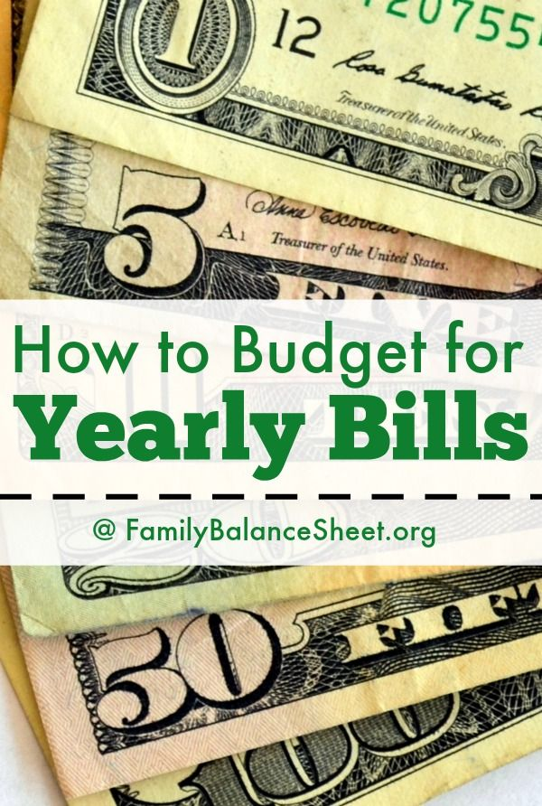 How To Set Aside Money For Bills