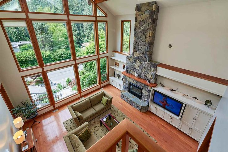 How about this for a living room?  1880 RIVERSIDE Drive in North Vancouver: Seymour NV House for sale : MLS(r) # R2161670