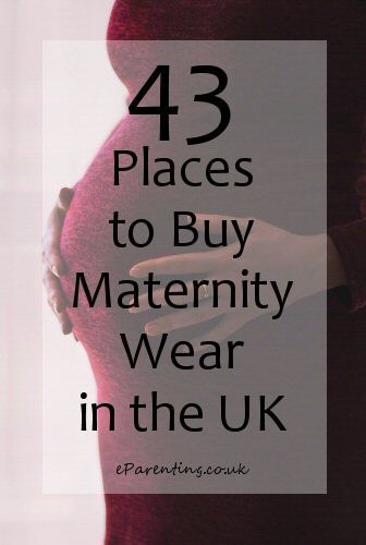 43 Places to Buy Maternity Clothes in the UK.  The big list! Almost everywhere that you can get maternity wear online in the UK. #maternitywear #cheapmaternitywear #pregnancyclothing #maternityclothes