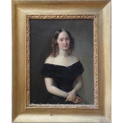 Bertha Valerius , porträtt av Teresia Josephina Kreüger via Galleri Skott. Click on the image to see more!