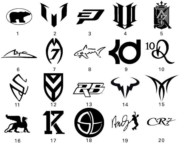 Basketball Star Shoe Symbols