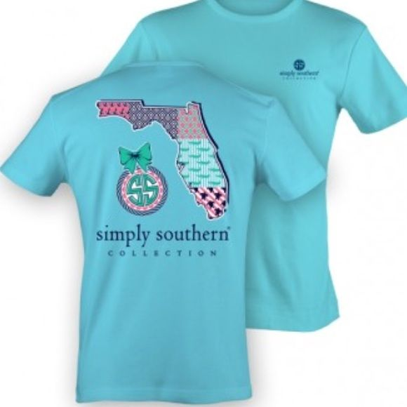 Simply Southern Shirt bought this a couple months ago and never wore it so it is BRAND new but no tags. price is negotiable. Simply Southern Tops Tees - Short Sleeve