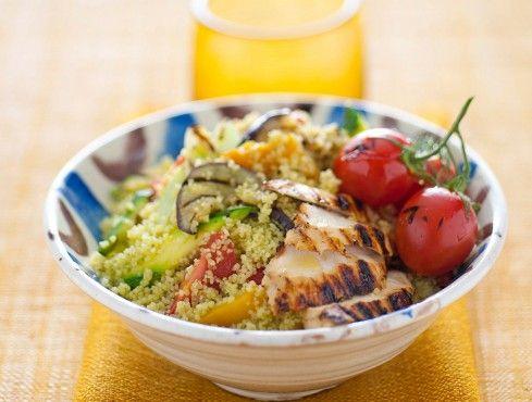 cous cous di pollo e verdure Sale&Pepe ricetta