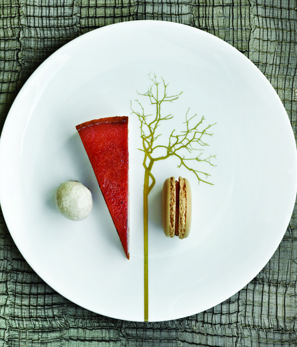 Phil Howard's comprehensive and thorough salted caramel tart recipe will yield a luxurious dessert, with praline macaroons and ginger and vanilla ice cream adding further decadence.