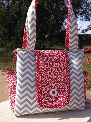Custom Diaper Bag - Customized - Made to Order - Chevron, Polka Dots, Stripes, pinks, blues, cammo - Custom Diaper Bag - Custom Baby Bag by CraftyJuJu on Etsy https://www.etsy.com/listing/202761653/custom-diaper-bag-customized-made-to