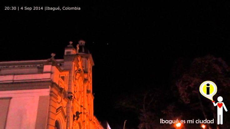 #Ufo, #ovni en #Ibague Tolima Colombia, un objeto volador sin identificar