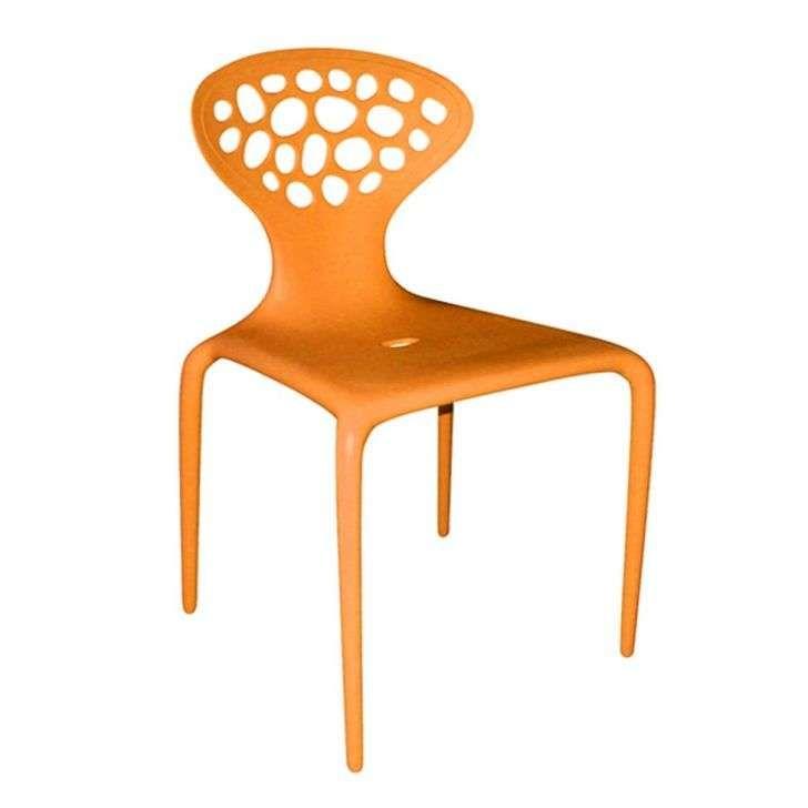 Compre Cadeira Supernatural Laranja e pague em até 12x sem juros. Na Mobly a sua compra é rápida e segura. Confira!