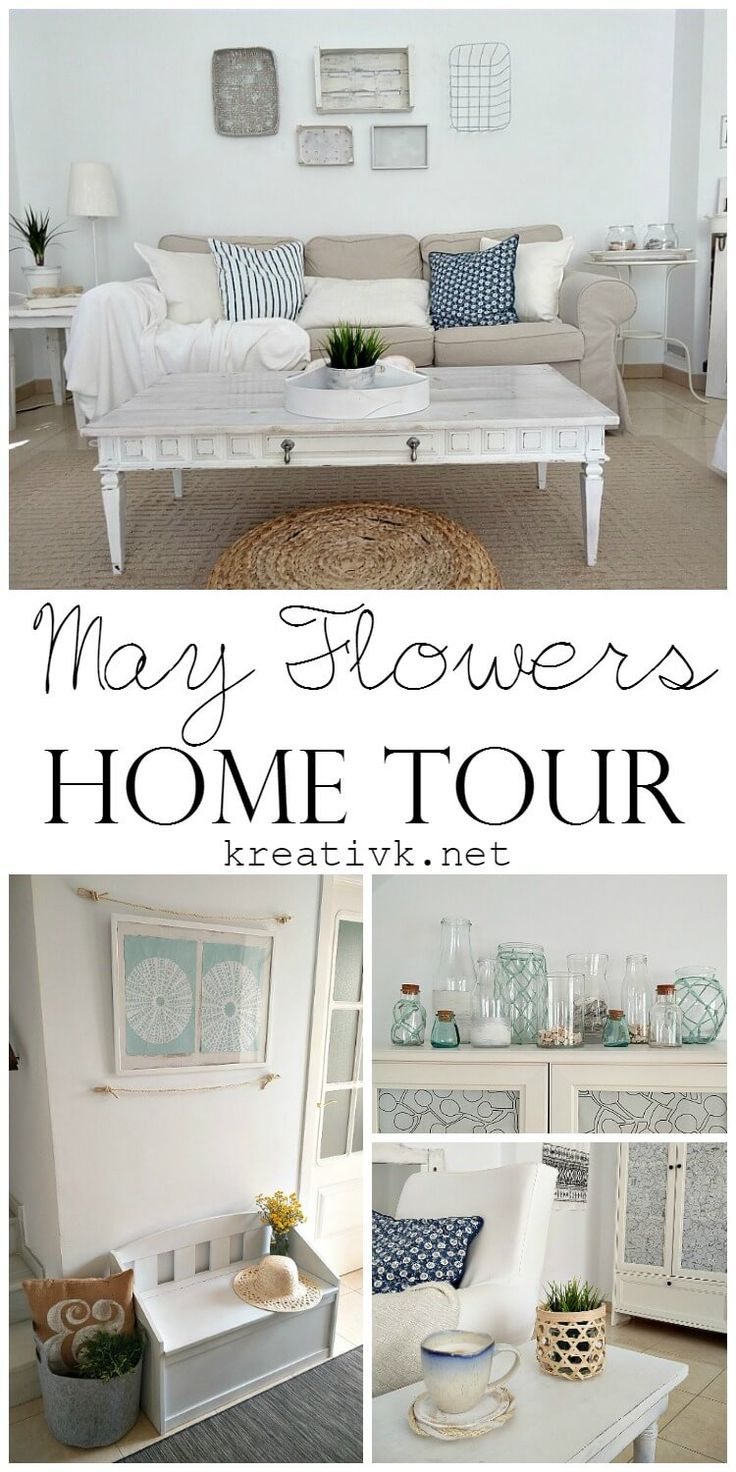 Whoohoo, I'm so excited about today's May Flowers Home & Garden Tour, as I'm teaming up with my blogger friends to show you our homes & gardens all decorated for the season!     [Please note, that this post contains affiliate links, for more info please read my disclosure.] May Flowers Home & Garden Tour Here in the South of Spain we always have a mild climate, although this time of year, it's changing a lot and we do get some rain showers thankfully as well. But it's mostly sunny, so when…