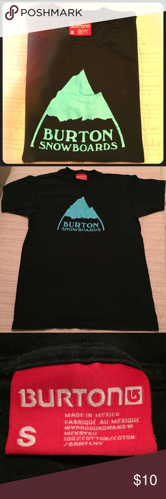 Burton 🎀 Tee Excellent condition.  Mens size small. Burton Shirts Tees - Short Sleeve