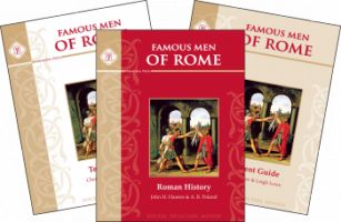 Famous Men of Rome Review!  See what my Charlotte Mason learning style learner thought of this Classical approach to learning about The Famous Men of Rome!