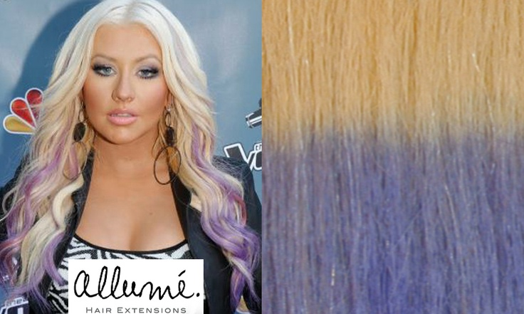 Lilac Clip In Human Hair Extensions 7
